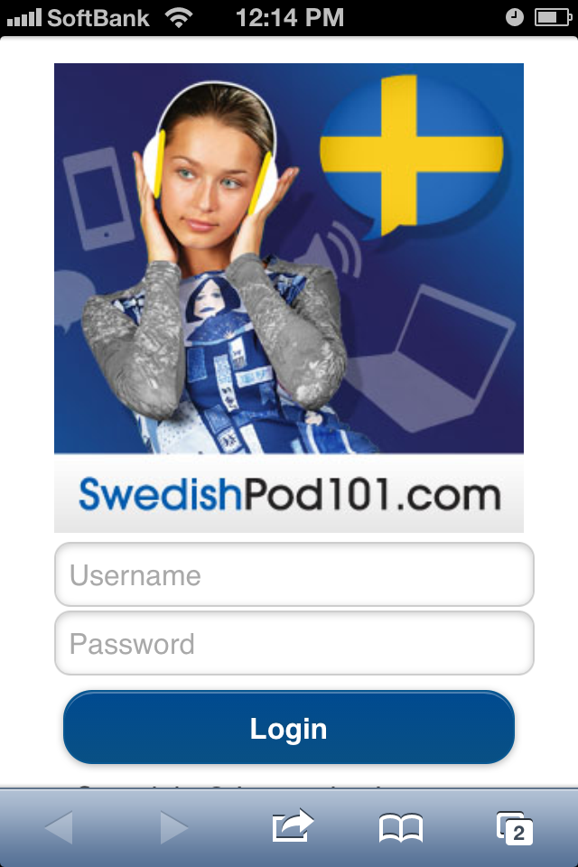 learn Swedish online with SwedishPod101 Mobile