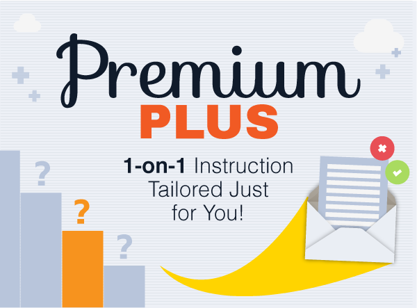 Upgrade to Premium PLUS today to get your very own private tutor!