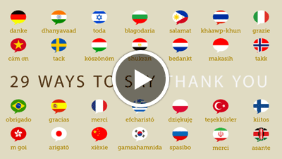 Thank Yourself This Thanksgiving & Learn 29 Ways To Say
