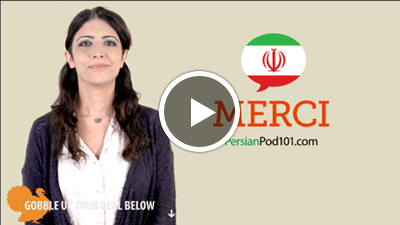 how to say thank you in persian