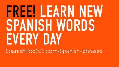 FREE Spanish Word of the Day Widget - SpanishPod101
