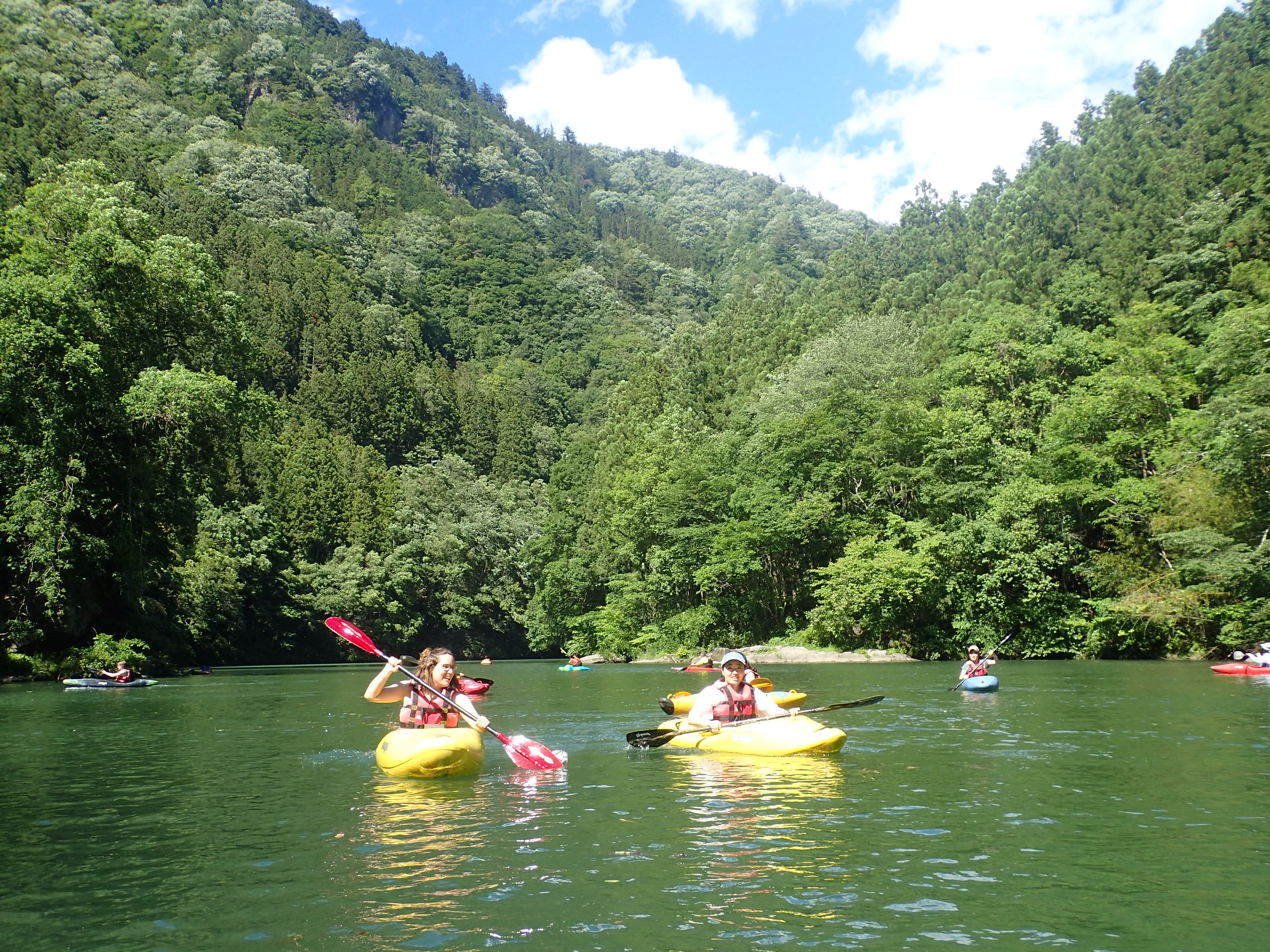 Kayaking Okutama