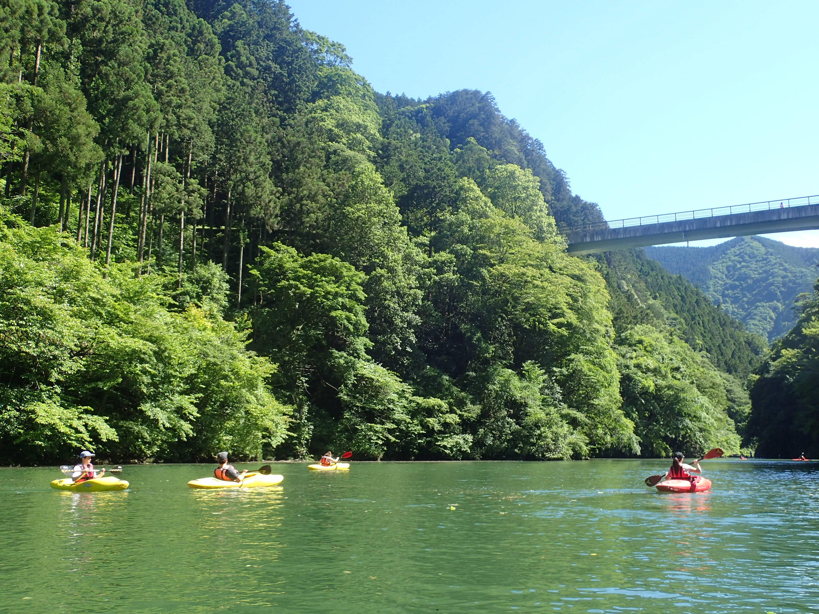 Okutama Kayaking
