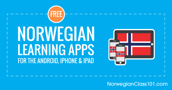 Free Norwegian Language Apps for iPhone & Android