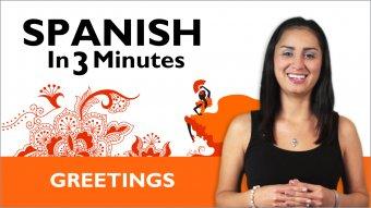 Spanish in 3-Minute Videos - SpanishPod101