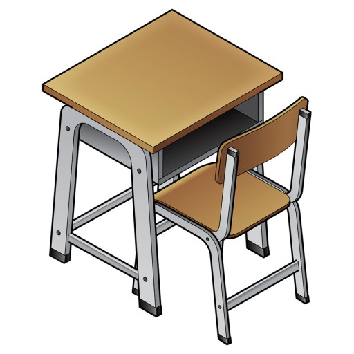 Chinese word of the day school desk noun