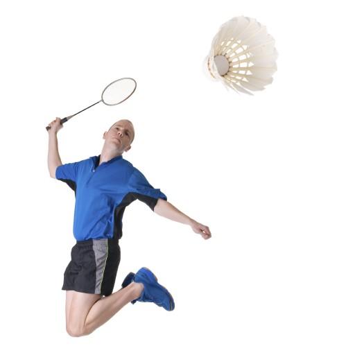 vocabulary! バドミントン (badominton) badminton (noun)