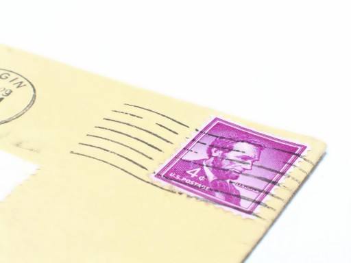 Japanese Word of the Day - stamp on a letter (noun)